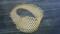 メビウスの帯 六目編み
