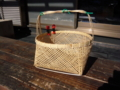 四つ目編み籠