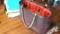 鉄線編みバッグ