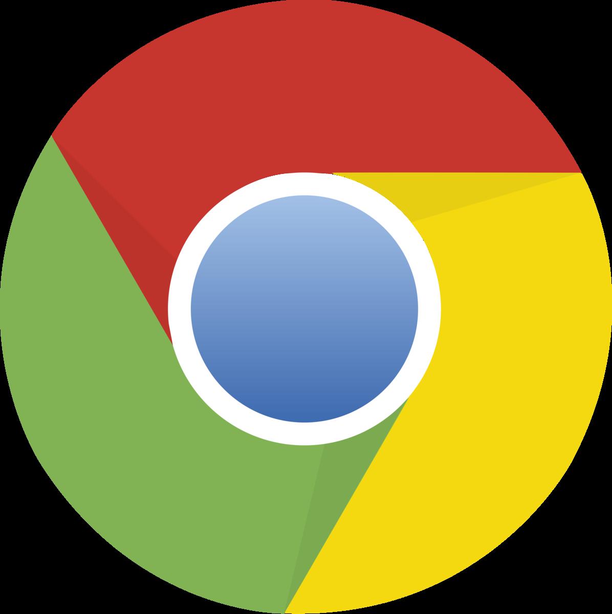 グーグルクロームのロゴ