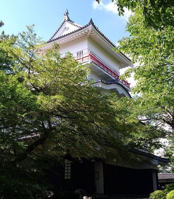久保田城御隅櫓