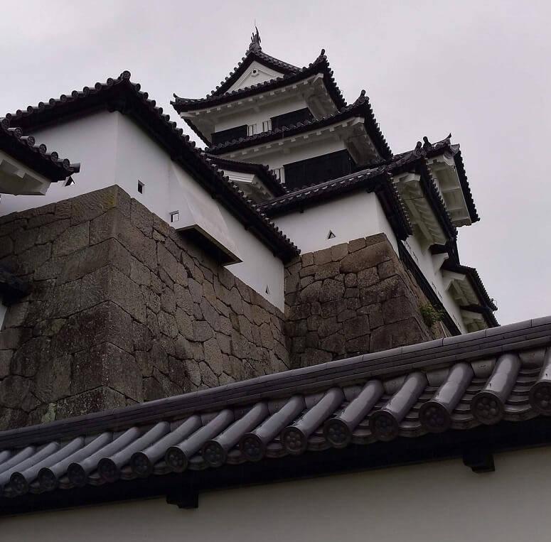 白河小峰城の三重櫓②