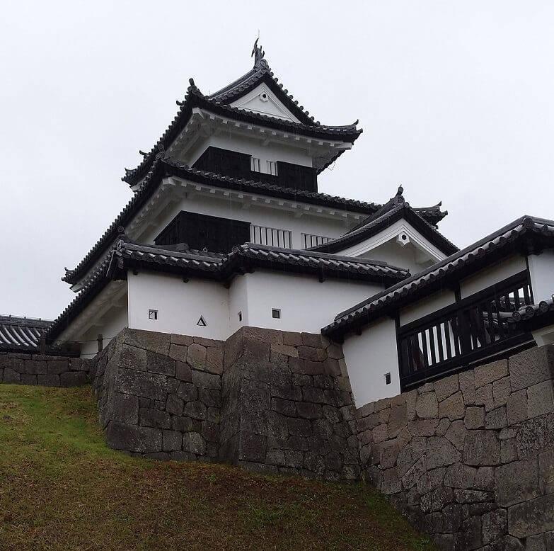 白河小峰城の三重櫓①