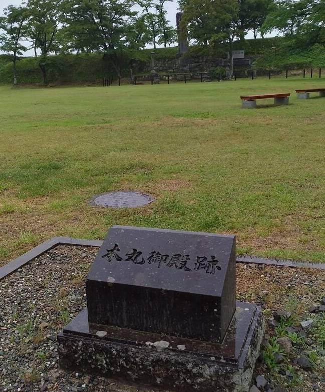 白河小峰城の本丸跡