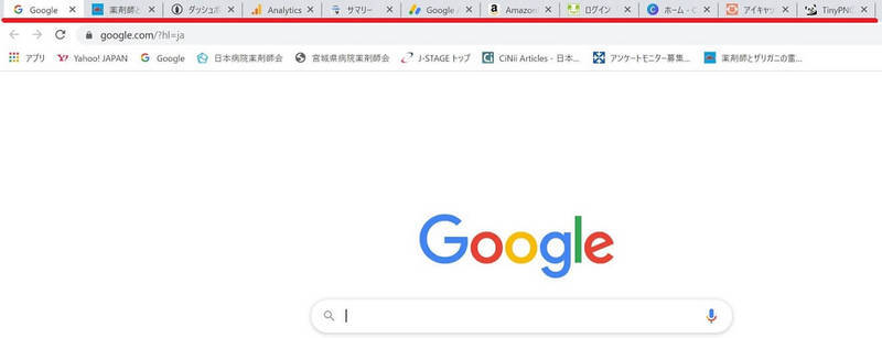 Chromeで一気に多数のサイトを表示させる