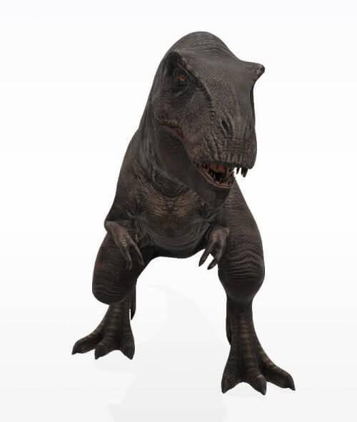 ティラノサウルス(Google)