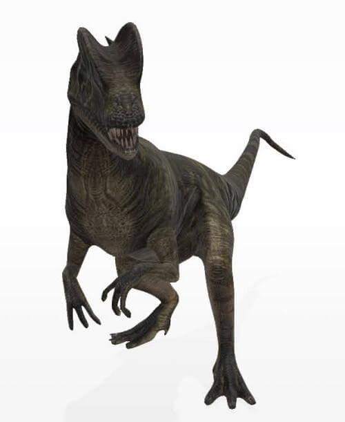 ディロフォサウルス(Google)
