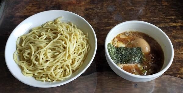 「ちいおり」のつけ麺
