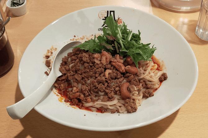175°DENO担担麺仙台店の汁なし担担麺