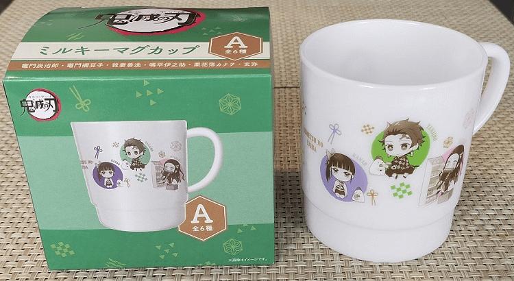 鬼滅の刃コラボ:ミルキーマグカップ「A」