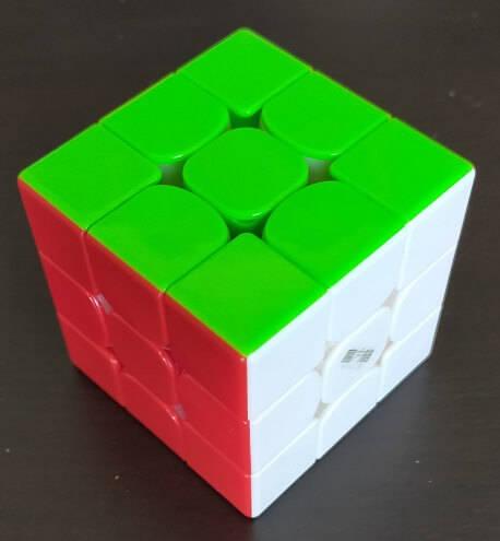 ルービックキューブチャレンジ89日目完成
