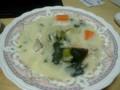 [料理]鶏胸肉のクリームシチュー
