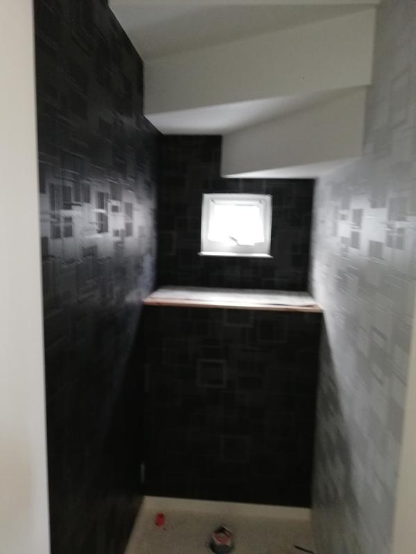 トイレ1階壁紙