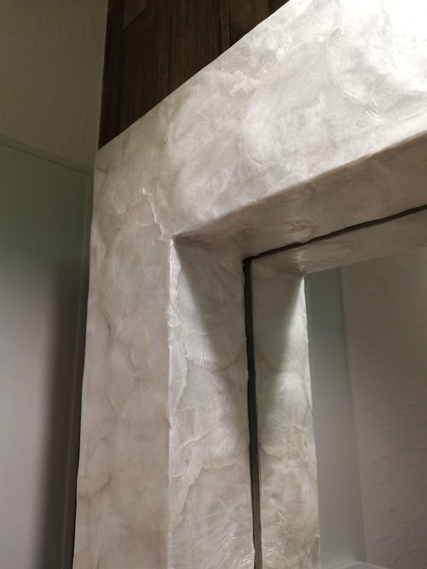 鏡の枠の厚み