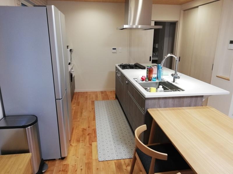 ダイニング キッチン 冷蔵庫