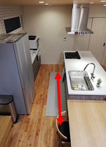キッチン導線