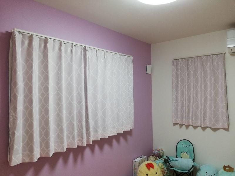 姉の部屋のカーテン