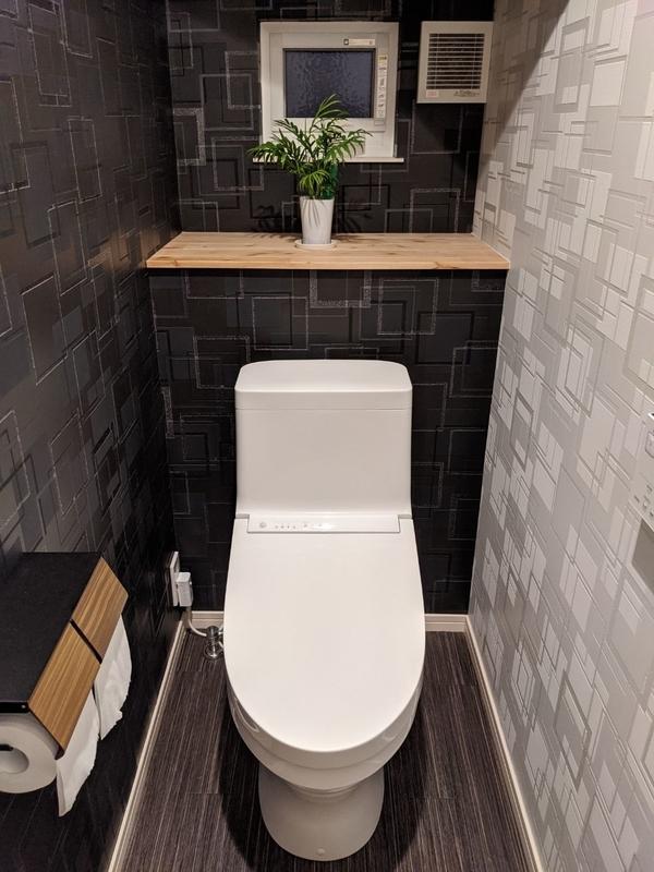 トイレに植物