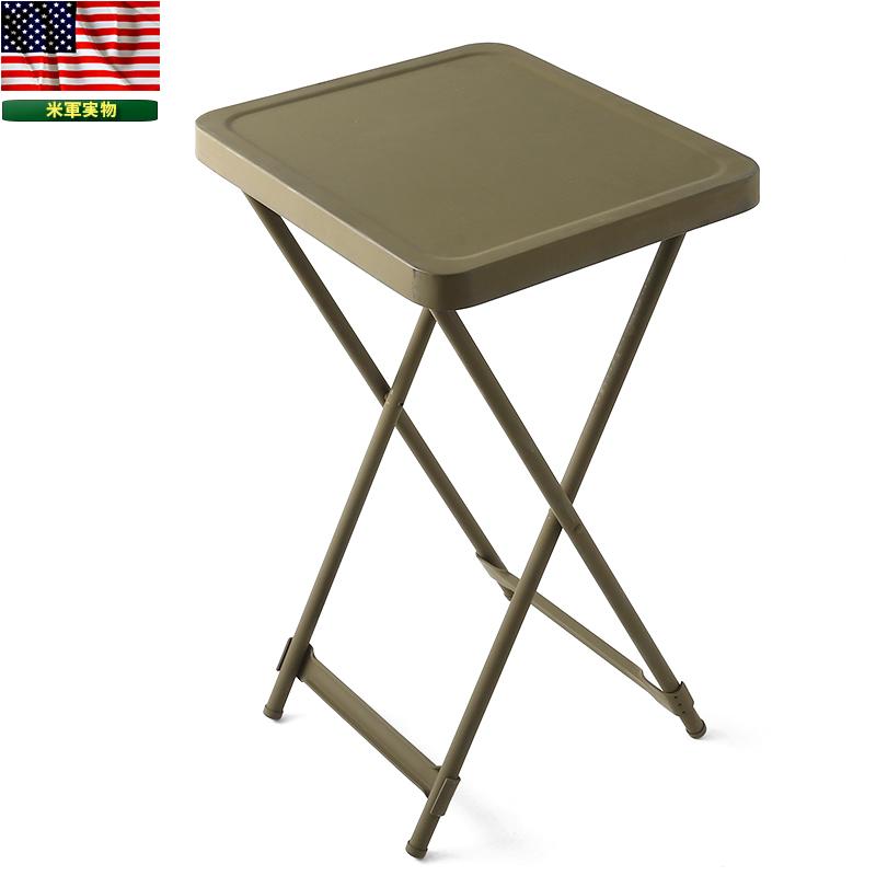 米軍BEDSIDE METAL FOLDING テーブル 価格:13,430円|タップで商品ページへ|