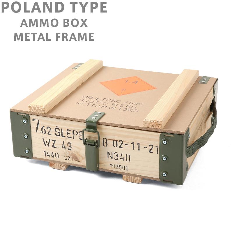 ポーランド軍 アンモボックス メタルフレーム 価格:3,400円|タップで商品ページへ|
