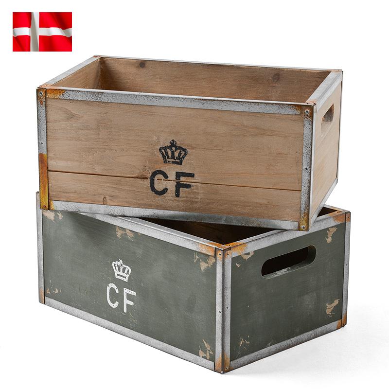 デンマーク軍 ストレージウッドボックス Small 価格:1,870円|タップで商品ページへ|