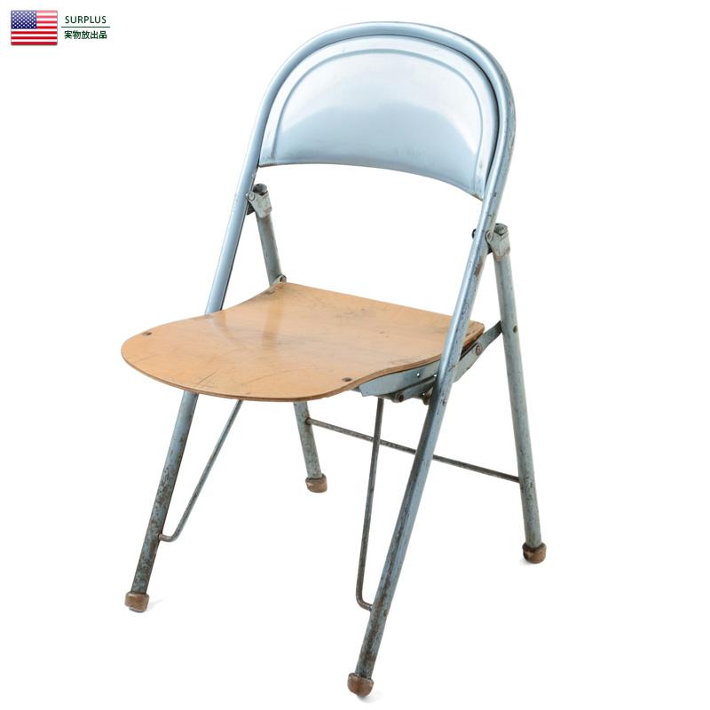 米軍 American Seating製 1940's フォールディングチェア 価格:12,800円|タップで商品ページへ|