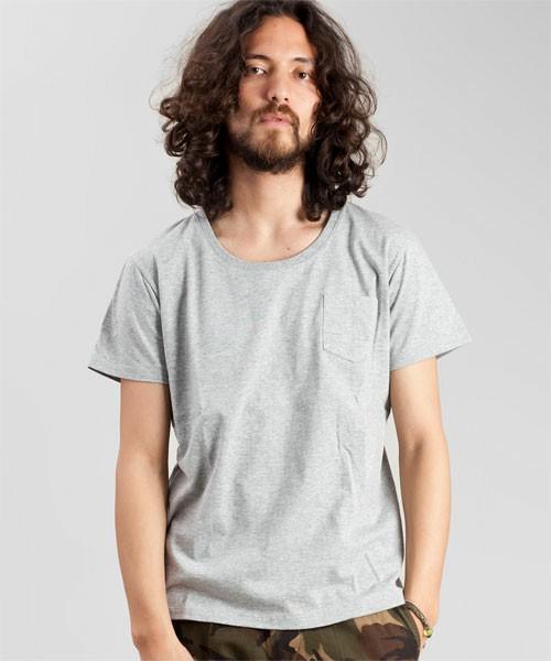 nano・universe The 1st. Floor Mens(ナノ・ユニバースザファーストフロア メンズ)のAnti Soaked PK-T S/S(Tシャツ・カットソー)|トップグレー