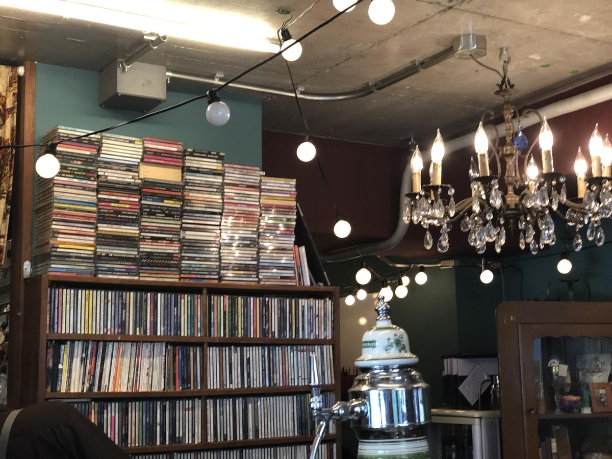 MOKUBAZA  店内の様子 音楽溢れるお洒落な空間