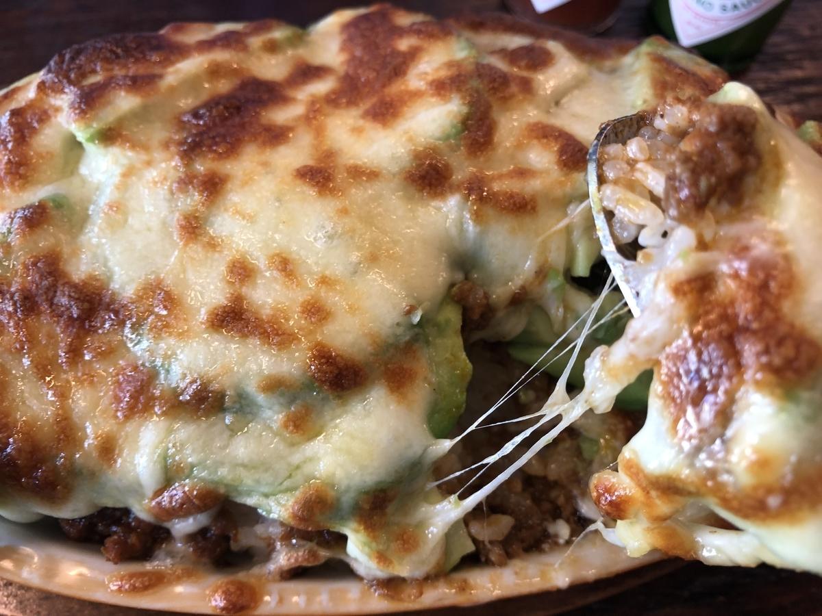 MOKUBAZA 焼きアボガドキーマカレー とろ~りチーズ