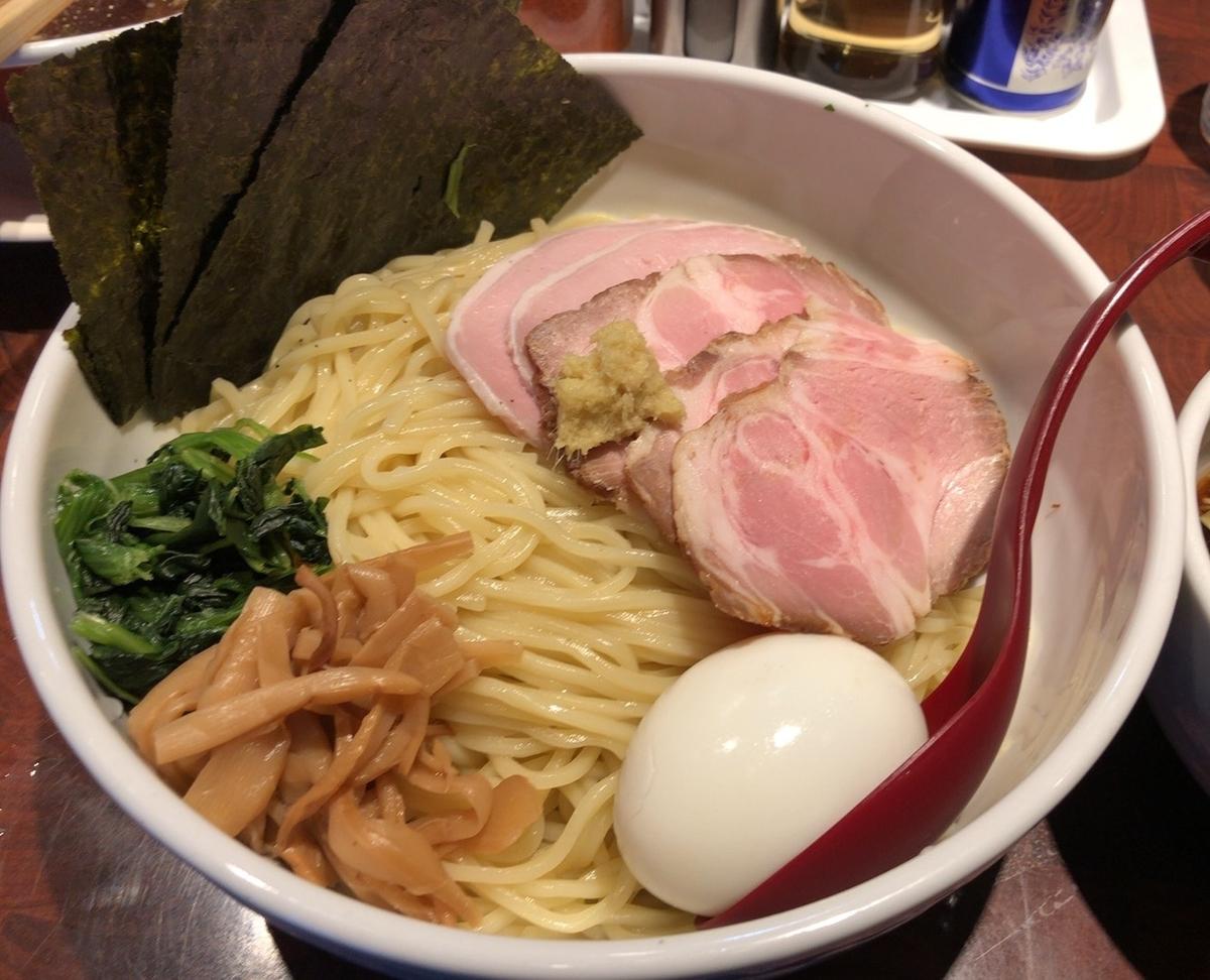 我武者羅 生姜醤油つけ麺