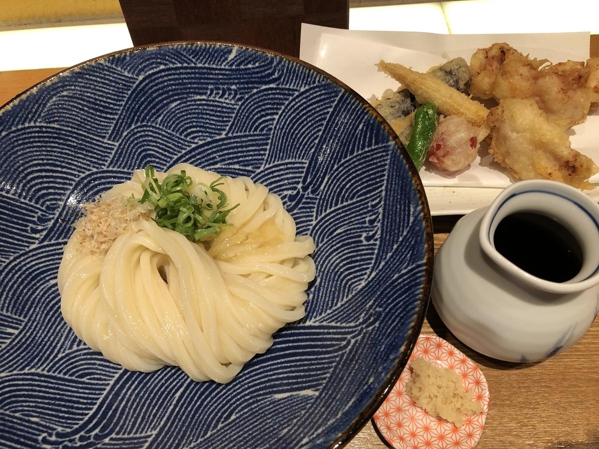 切麦や 甚六 うどんと天ぷら