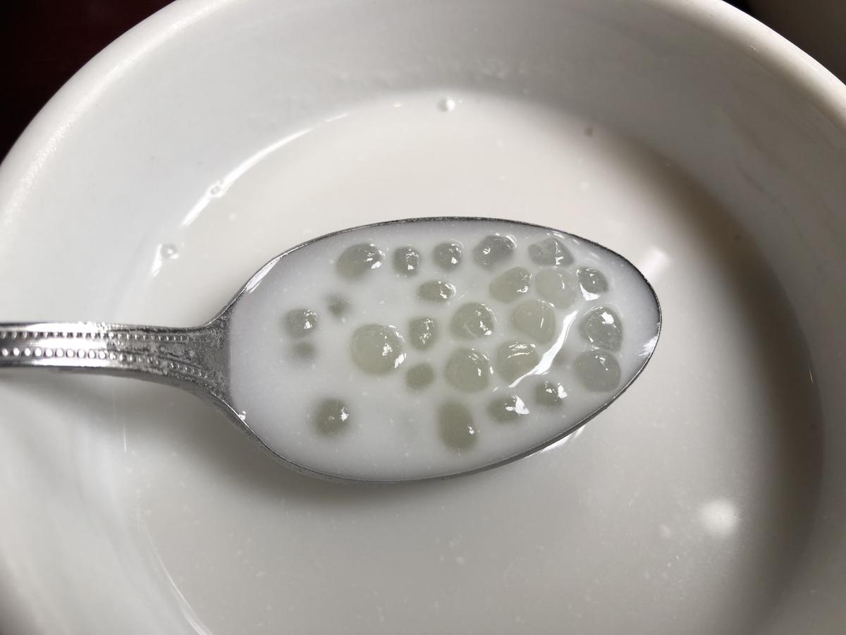 ジャスミン タイ タピオカミルク