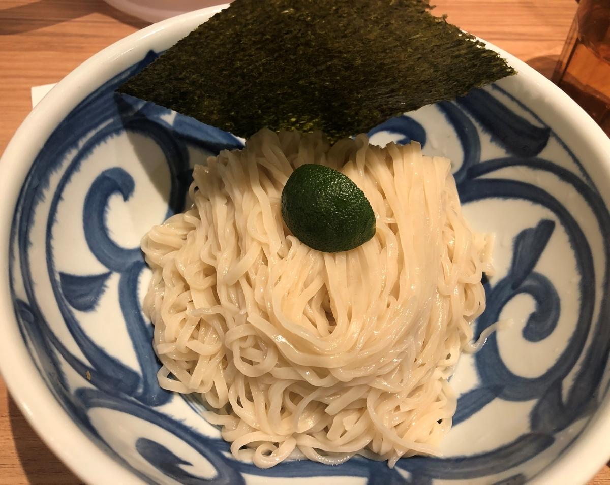 ソラノイロNIPPON つけ麺 麺