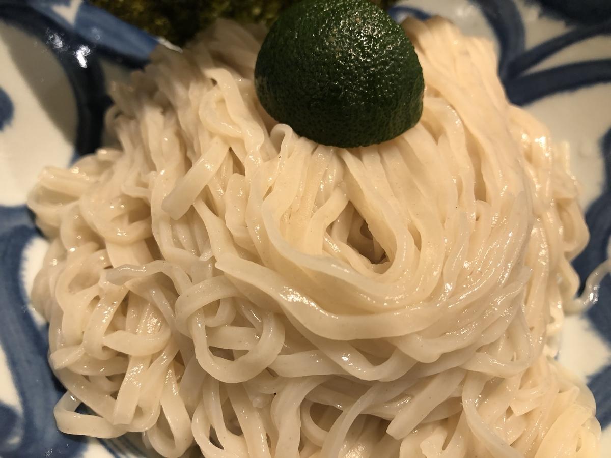 ソラノイロNIPPON つけ麺 細麺