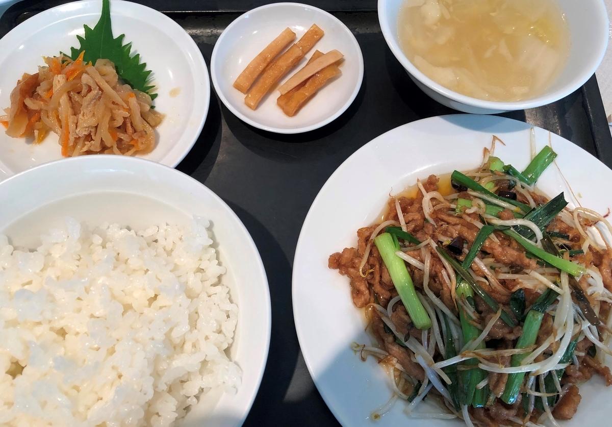 峨嵋山(がびさん) ランチはスープや副菜がつく