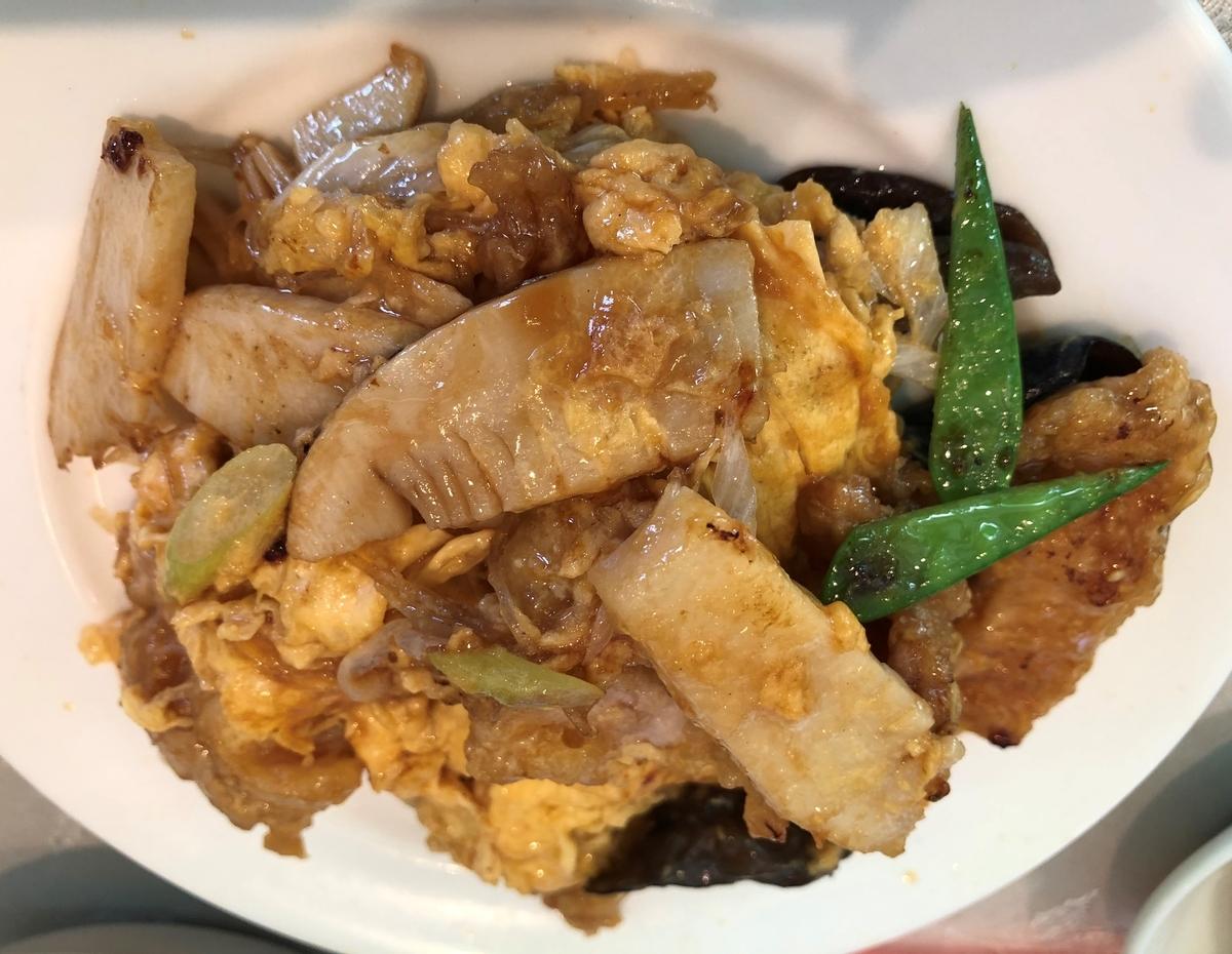 峨嵋山(がびさん) 炒め物