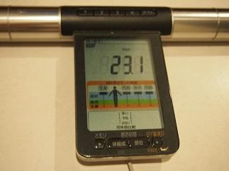 ダイエット43日目BMI