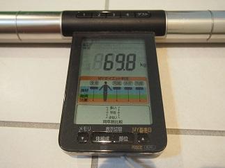 ダイエット50日目体重