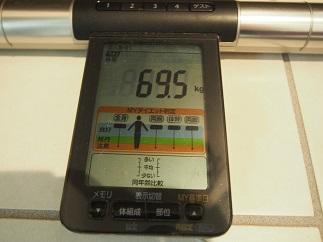 ダイエット51日目体重