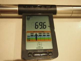 ダイエット53日目体重