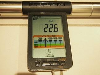 ダイエット55日目BMI