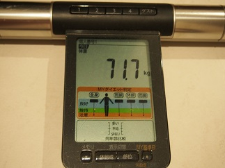 ダイエット60日目体重