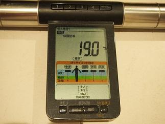 ダイエット60日目体脂肪
