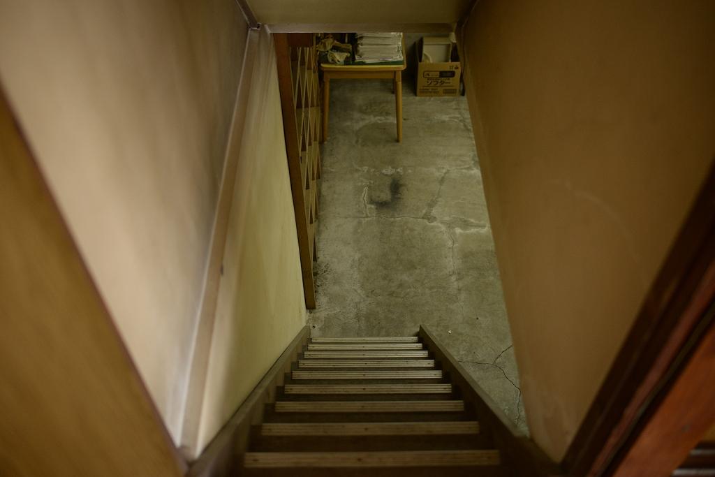 アリノハネの店舗の地下室