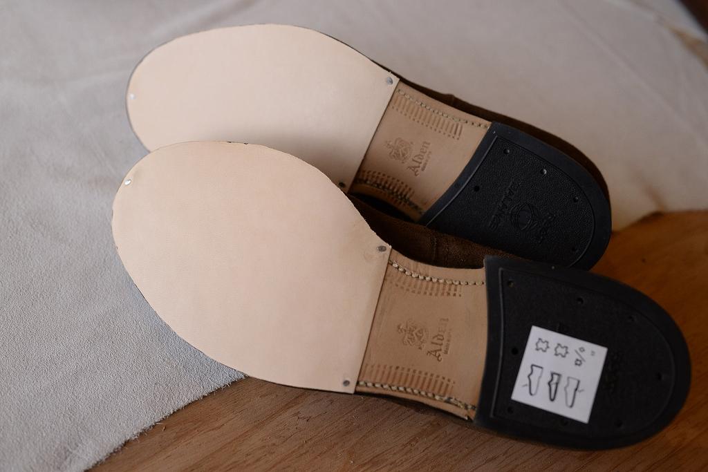 アリノハネ 靴の修理