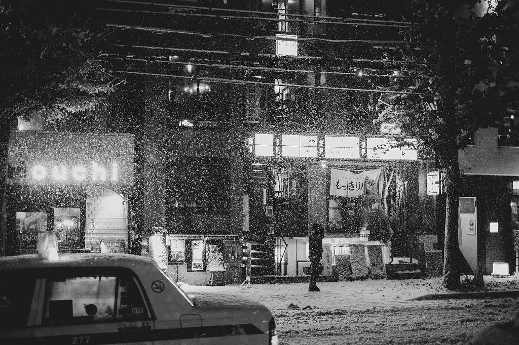 札幌の雪景色