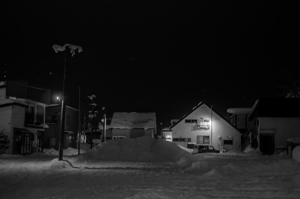 美唄の夜景
