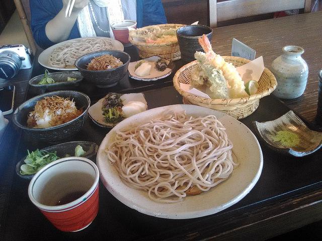 嵐山よしむらの蕎麦