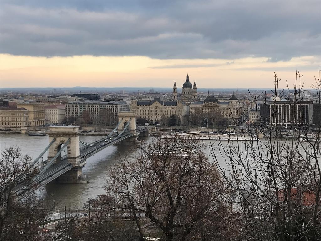 ブダ王宮からの眺望