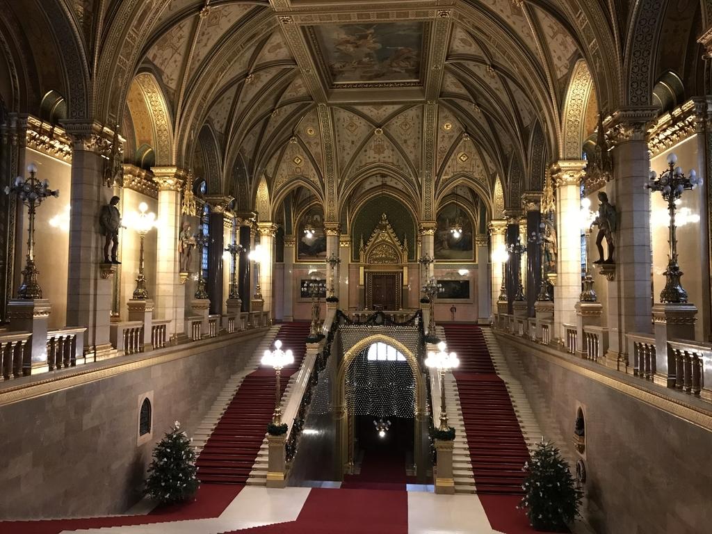 国会議事堂内部